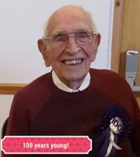 Happy Birthday to Mr John Watson, 100 Years Young today