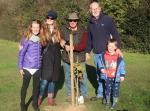 Image: WW1 Commemoration Tree Planting with Bader International Learning Centre